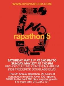 Rapathon 5 Flyer