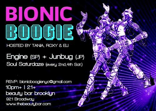 Bionic Boogie Flyer 3