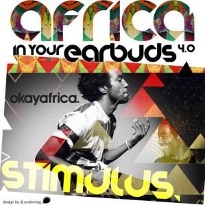 Stimulus - Africa In Your Earbuds #4 Art, by DJ Underdog