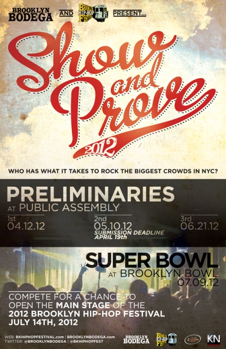 2012 Show & Prove Flyer