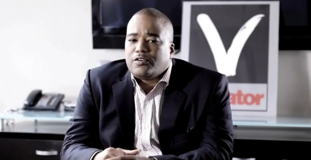 Photo of Chris Lighty in Violator Office