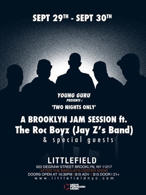 The Roc Boyz at Littlefield (Flyer)