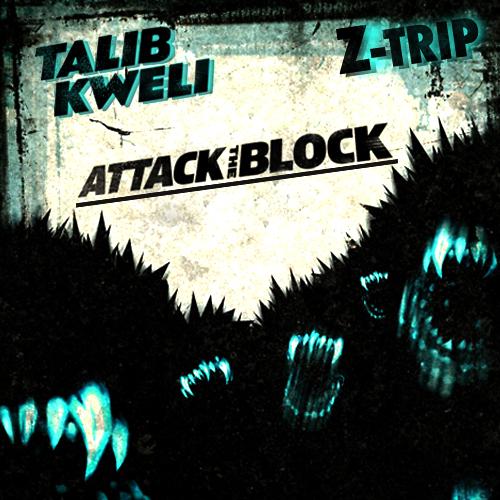 Talib Kweli - Attack The Block (front cover)