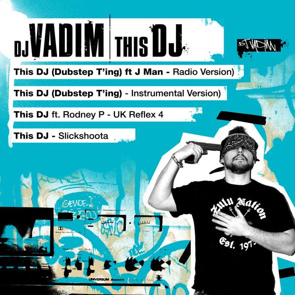 """DJ Vadim - """"This DJ"""" (Single Cover)"""
