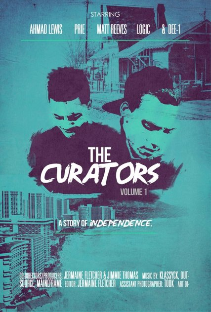 Artwork/poster for THe Curators Volume 1: A Story of Independence